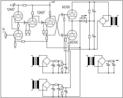 schematic 6c33c se  u2013 the wiring diagram  u2013 readingrat net