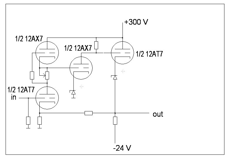 DC coupled preamp